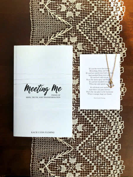 "BOOK AND PRINT SET | Meeting Me and ""Grow"" 5x7"" Print"