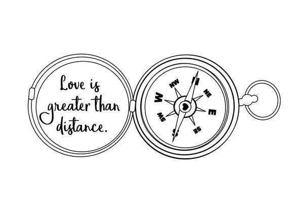 "Long Distance Love Print | 5x7"" or 8x10"""