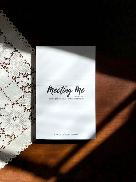 "BOOK AND NECKLACE SET | Meeting Me and ""Listen"" Necklace"