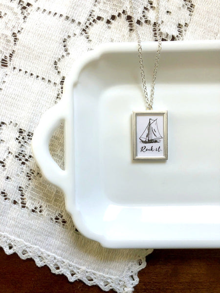 Rock the Boat Large Necklace