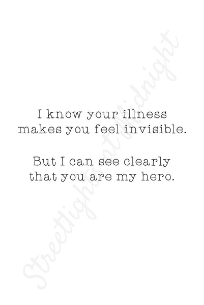 You Are My Hero Greeting Card - Blank Inside