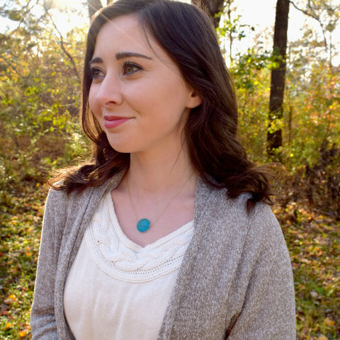 The Serena Necklace & Print | Psalm 139:9-10 | NEW