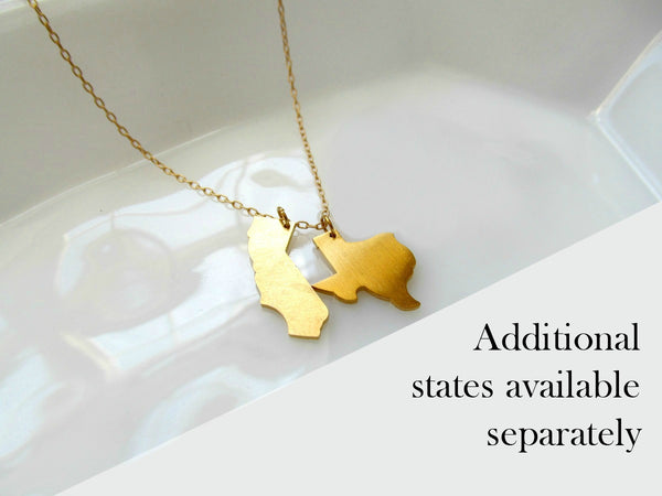 WEST VIRGINIA State Necklace