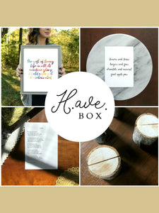 Housewarming Gift Box