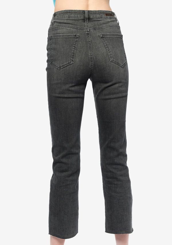 GREY BOTTONS JEANS