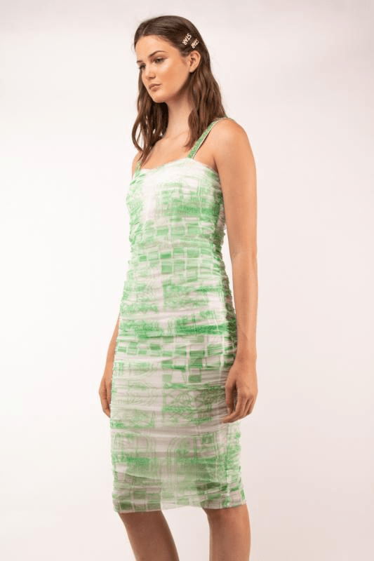 Premium Edition Vestidos GREEN DRESS