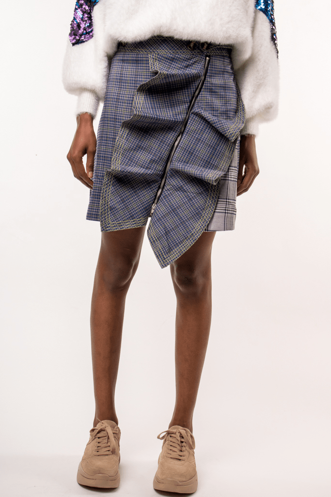 Urban Styles Faldas SCOTTISH SKIRT-AZUL
