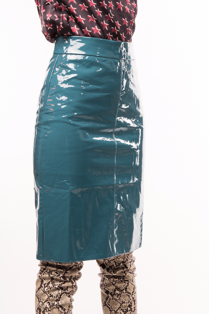 Urban Styles Faldas TRENDY GREEN SKIRT-AZUL