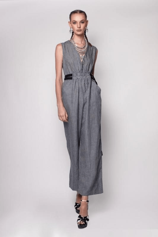 Urban Styles Jumpsuits Jumpsuit largo a cuadros