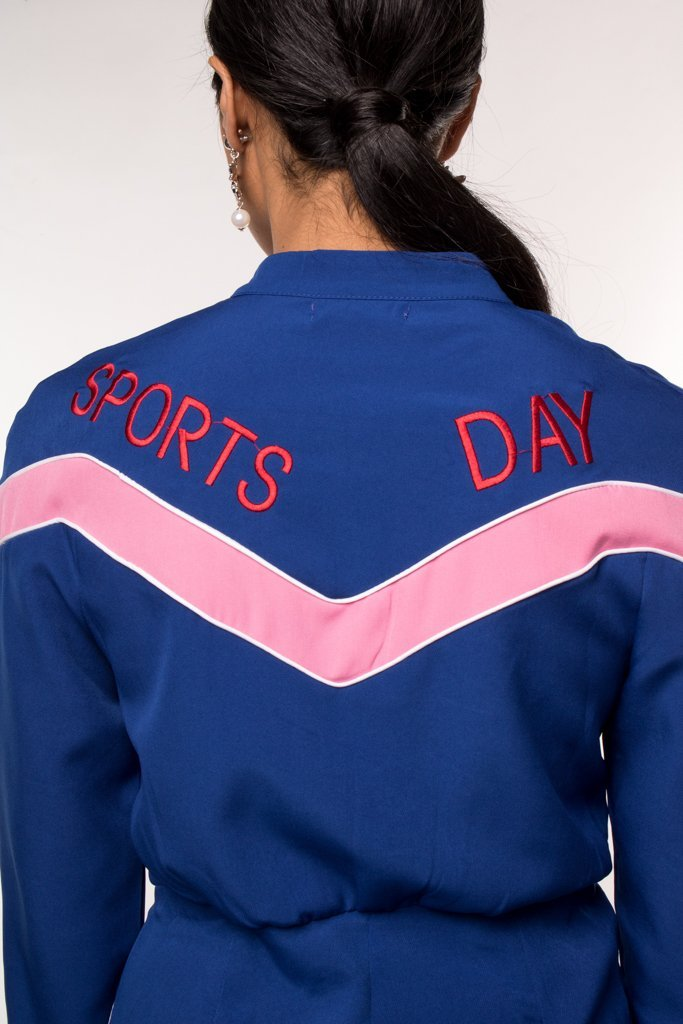 Urban Styles Jumpsuits THE SPORT DAY JUMPSUIT-EN ROSA Y AZUL