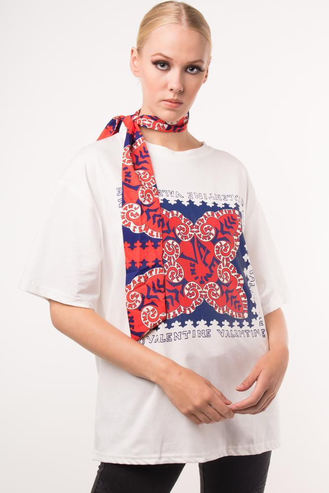 Urban Styles Playeras THE GYPSY TSHIRT- EN BLANCA Y NEGRA