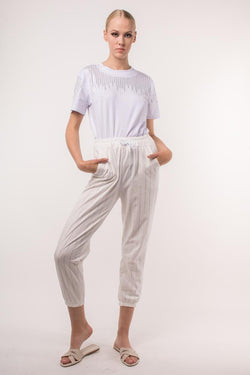 Urban Styles Sets TALLA UNICA / BLANCO THE COOLEST PANTS- EN NEGRO Y BLANCO