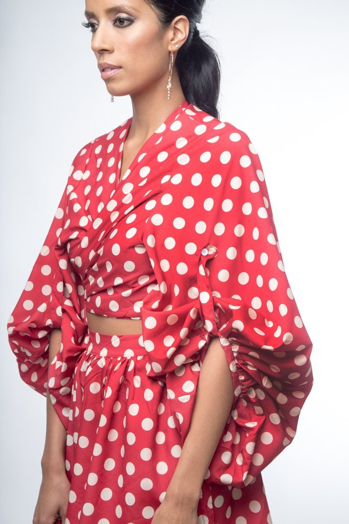 Urban Styles Sets THE POLKA SET-EN BLANCO Y ROJO