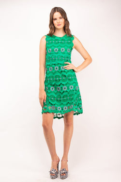 Urban Styles Vestidos LACE GREEN DRESS