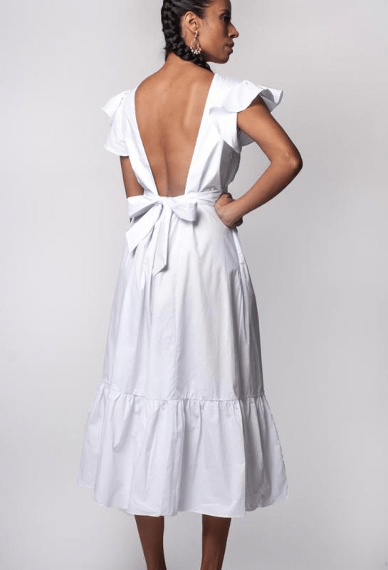 Urban Styles Vestidos Long White