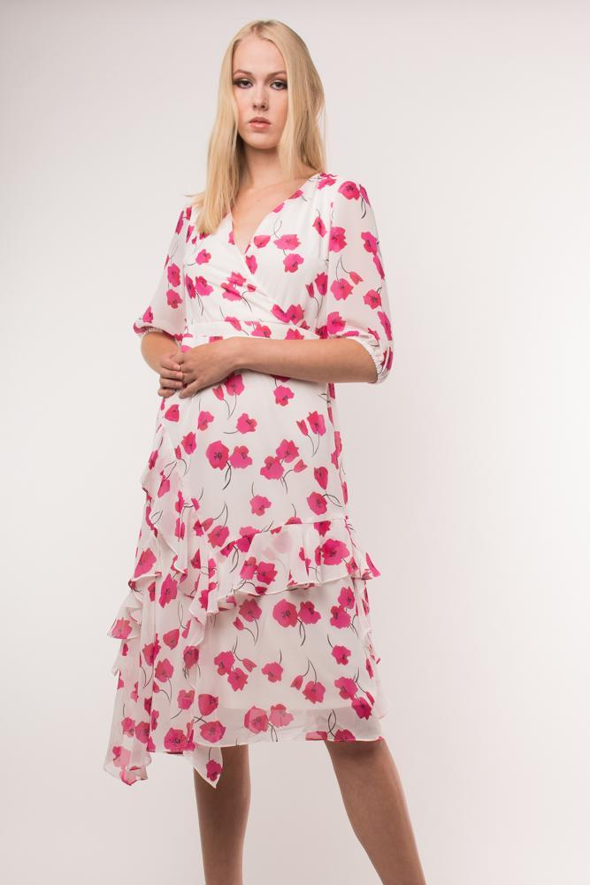 Urban Styles Vestidos PINK FLOWERS DRESS