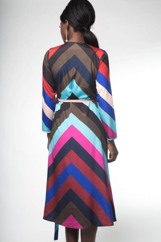 Urban Styles Vestidos STRIPES IN COLORED DRESSED