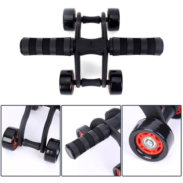 Four-wheeled Abdominal Muscle Exerciser Rolling '