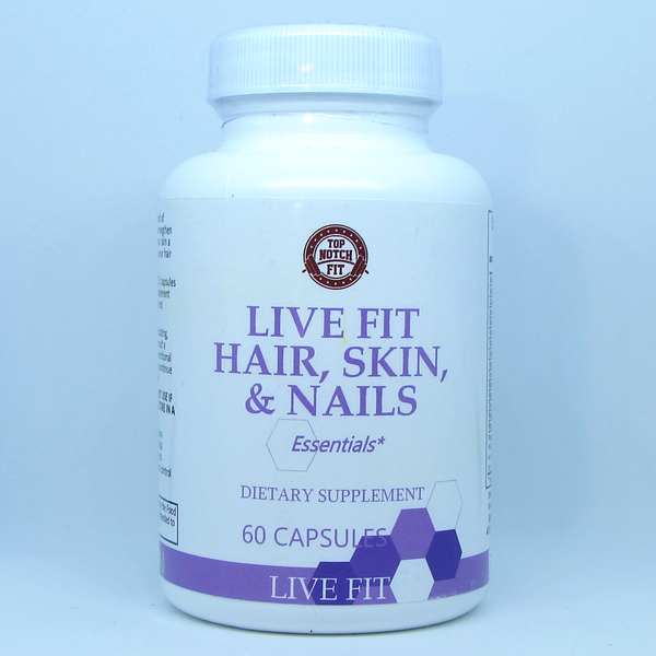 Live Fit - 'Hair, Skin, & Nails' - Essential Vitamins