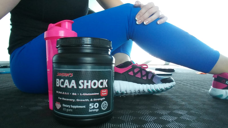 Samson's BCAA Shock - 45 Servings!
