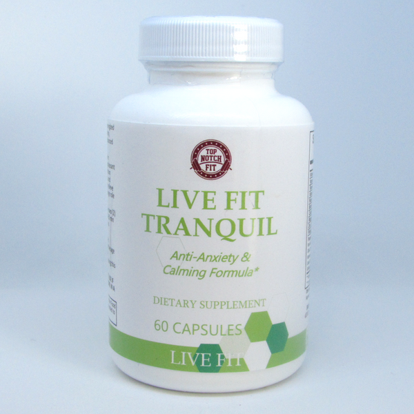 Live Fit - 'Tranquil' Natural Anti-Anxiety