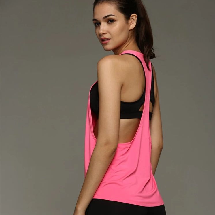 Breathe Top USA - #1 FNF Tank - Pink