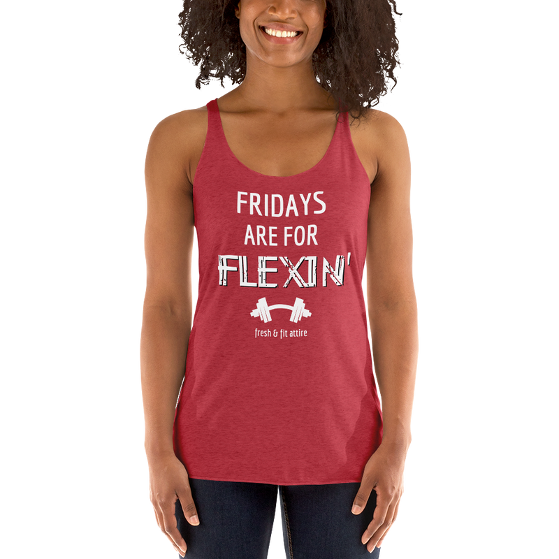 Fridays are for FLEXIN' - Women's FLOW Tank '