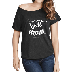 World's Best Mom - Women's Dolman '
