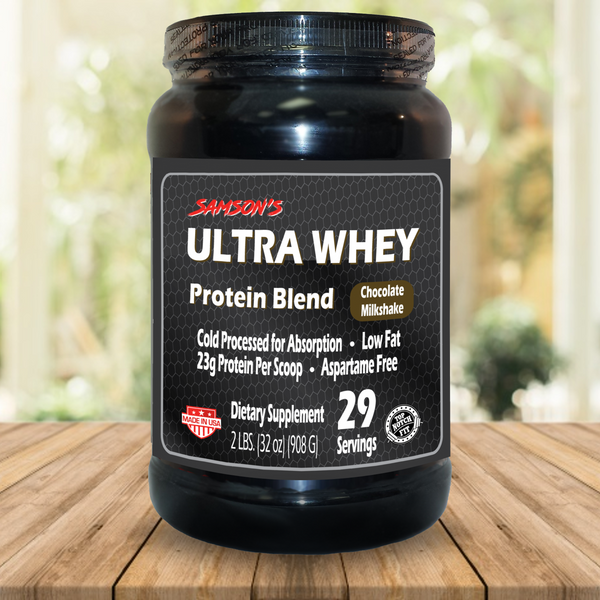 Samson's Ultra Whey - 32 Servings