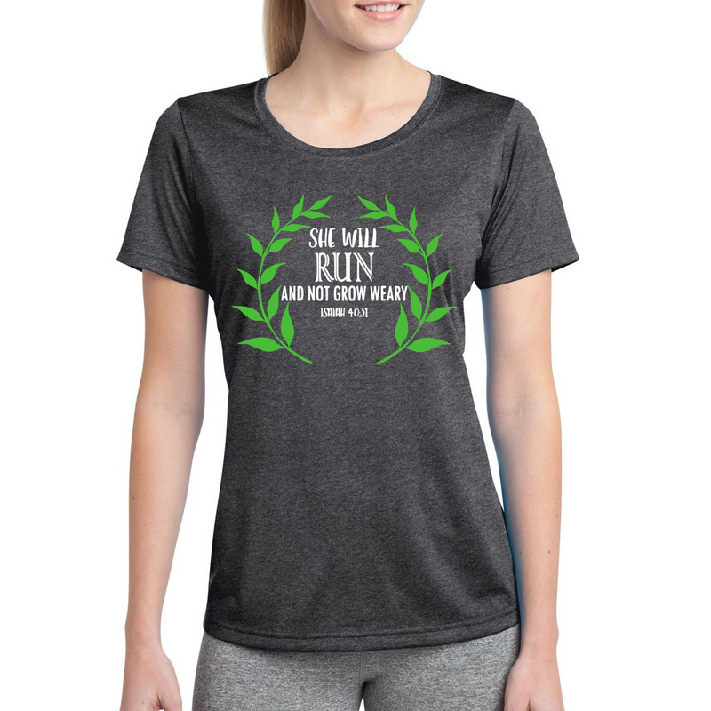 She Will Run - Women's PREMIUM Tee '