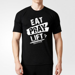 Eat, PRAY, Lift - Men's PREMIUM Tee