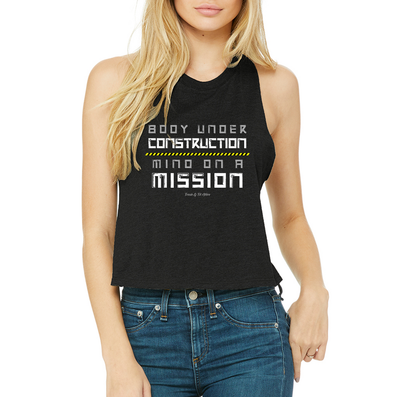 Body Under Construction - Women's Crop Top '
