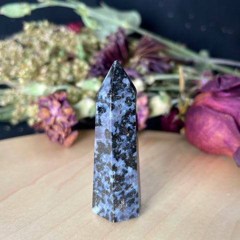 indigo gabbro crystal tower