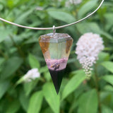 Amber and Lavender Pendulum