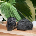 Black Tourmaline Pair