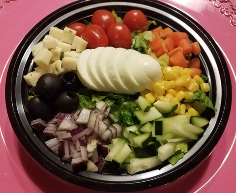 Radiant Rainbow Salad