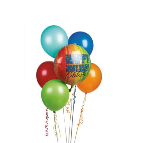 Balloon Bouquet - caringbahflowersgifts