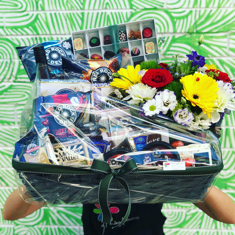 Cheerful hamper - caringbahflowersgifts