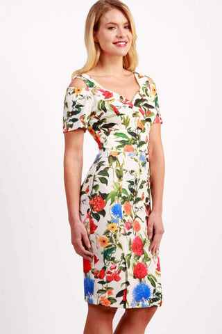 Cindy Print Dress in Eden print