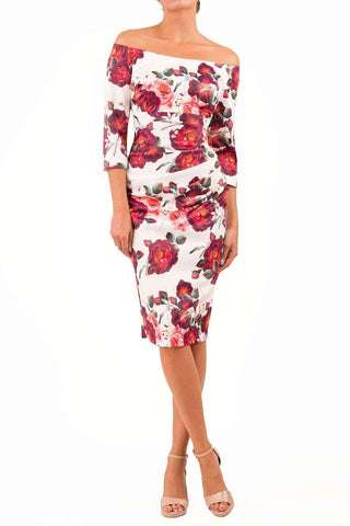 Astra Rose Printed Dress