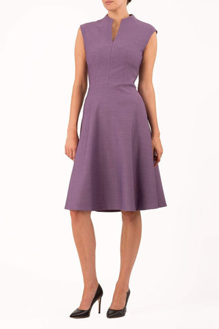 Seed Rio Swing Dress in dusky lilac
