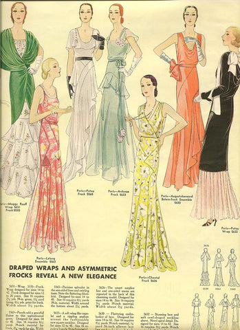 patterns for wrap dresses 1950s
