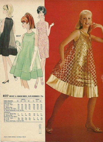 1960s sewing pattern