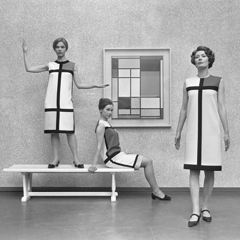 Mondrian dress Saint Laurent 1966