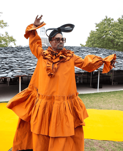 Billy Porter at London Fashion week