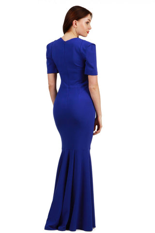 Lawson Maxi Dress in blue
