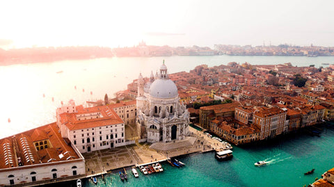 photograph of Venice