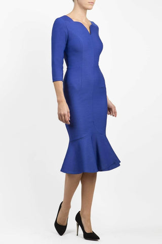 Seed Brecon Dress in blue