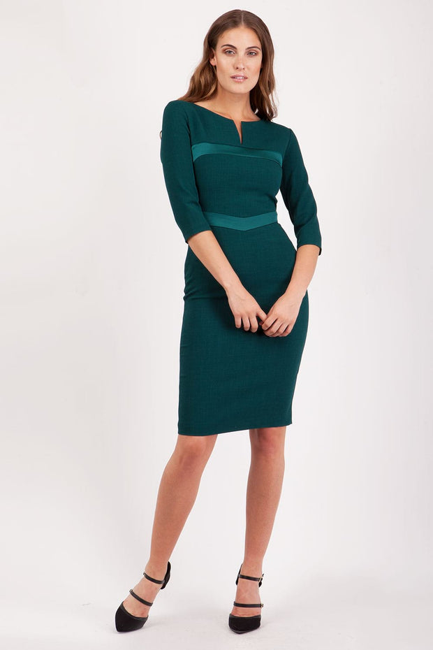 Yvonne 3/4 Sleeve Dress
