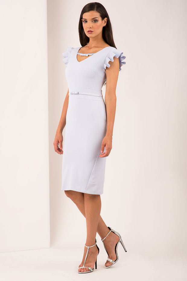 Crawford Crepe Dress